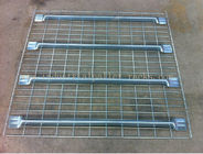 "42"" Depth Industrial Pallet Racks Shelving For Storage Rack Metal Material"